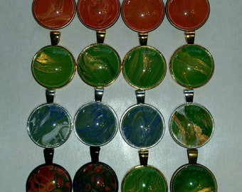 Acrylic flow pendants