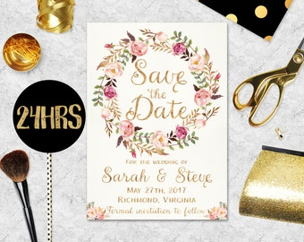 Save The Date Template Saraheppscom - Free customizable save the date templates