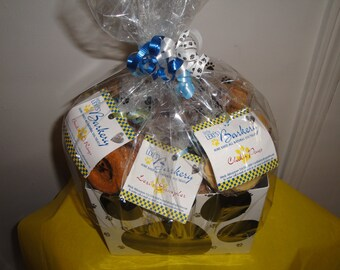 Basket of All Natural Home Baked Gourmutt Treats