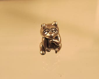 Raccoon  925 Charm Full Figure  @ A Village Coin Bullion 11/28/2 B