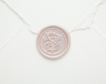 S Fancy Wax Seal | Initial Wax Seal Stamp