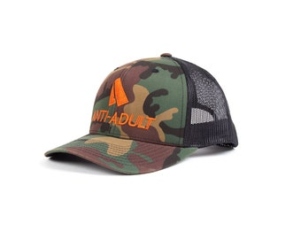 ANTI-ADULT Concept Trucker Cap | Camo