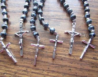 Masculine Pocket Rosary  Prayer Beads #138
