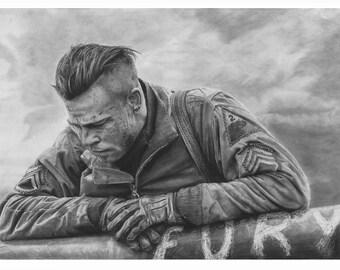 Brad Pitt - Fury