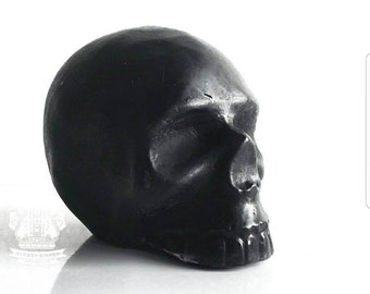 SKULL  Soap Vanilla with Activated charcoal.