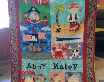 Ahoy Matey (blue)
