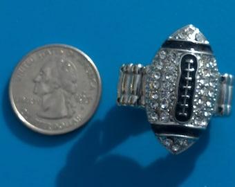New Rhinestone Bling Ring Small