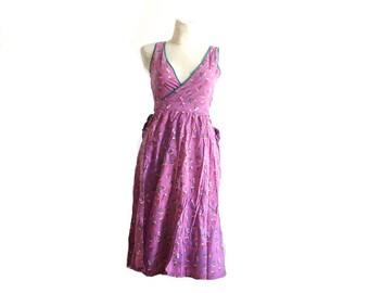 Vintage dress / Wrap dress / Size M
