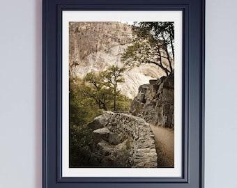 Yosemite National Park Fotografie Berg Drucke California Drucke Geschenke für Wanderer Yosemite Druck Yosemite große Abzüge Yosemite Kunst