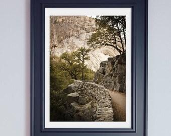 Yosemite National Park Photography  Mountain Prints California Prints Gifts for Hikers Yosemite Print Yosemite Large Prints  Yosemite Art