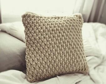The Pebbled Path- Pillowcase-  PDF Crochet Pattern