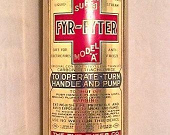 Fyr-Fyter Brass Extinguisher