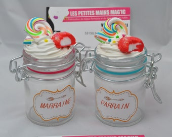 box a gourmet sweets baptism gift personalized godmother Godfather want you be mo sponsor