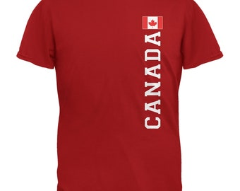 World Cup Canada Red Adult T-Shirt