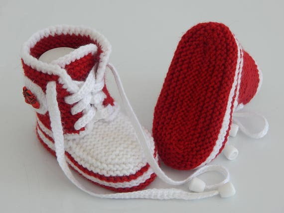 Baby style booties, Baby knitting shoes, booties shoes, baby converse, knitting  booties for girl and boy, baby gumshoes