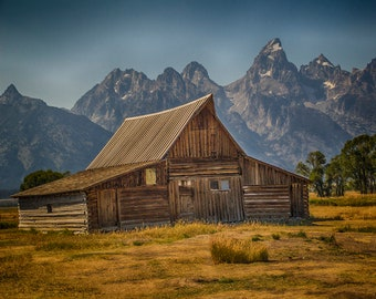 Barn Photos National Park Wyoming Farmhouse Wall Decor Farmhouse Wall Art Mountain Wall Art Western Decor