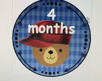 Woodland creatures 1st year growth tags