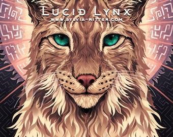 Lucid Lynx - Signed Giclée Print