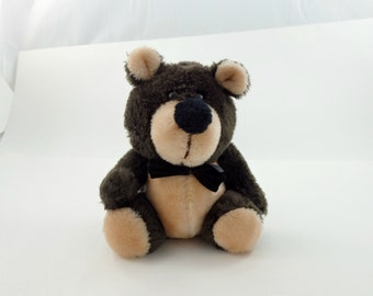 Vintage 70s Russ Berrie Bear, Teddy Bear Plush, Stuffed Teddy Bear, Stuffed Bear, Bear Lovers Gift, Soft Teddy Bear, Russ Teddy Bear
