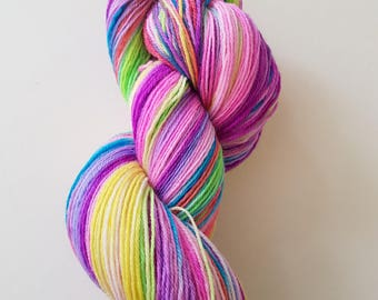 CAROLE. the brush-dyed wool skein