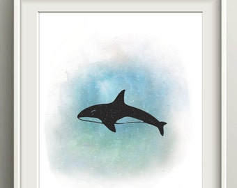 ON SALE - A whales world.