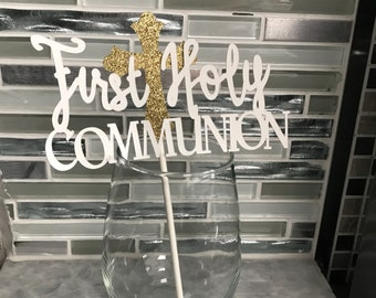 First Communion Centerpieces (Set of 4)
