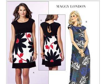 Dress by B5456 Butterick sewing pattern