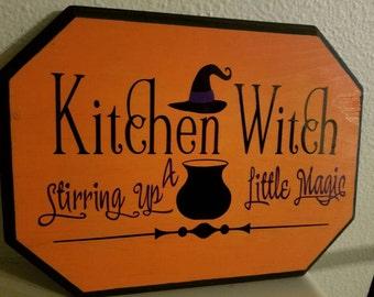 Kitchen Witch, stirring up some magic
