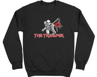 The Storm Trooper Maiden Funny Star Wars Rock 80S Costume Jedi Crewneck Sweatshirt DT1212
