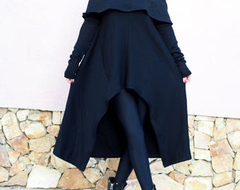 New collection/ Woman asymmetric tunic/black asymmetric poncho /woman asymmetric poncho / black asymmetric sweater
