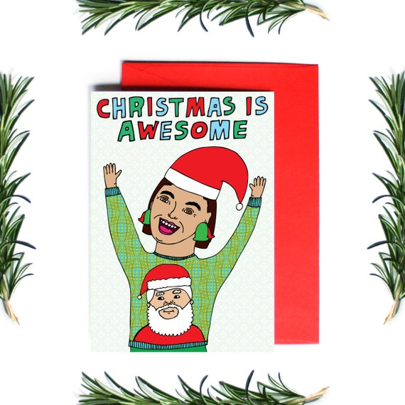 Different Is Awesome Holiday Package: Christmas Cards Christmas Is Awesome Greeting Card