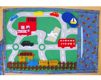 Transport Theme -Fun Felt Playmat
