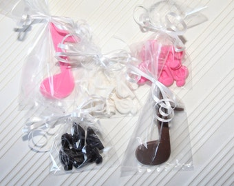 MUSIC NOTES CANDY/chocolates