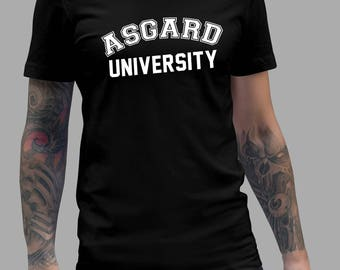 Asgard University Shirt - THOR Tshirt #J