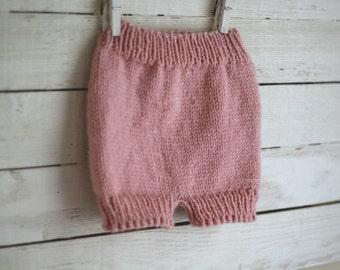 Pants, Knit Pants, Diaper Cover, baby pants, photo prop pants, diaper cover knit, pants for babies