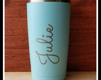 Travel Mug, Personalized Coffee Mug, Monogrammed, Custom Groomsmen Gift, Travel Coffee Mug, Insulated Travel Cup, Tumbler, Bridesmaid Gifts