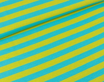HILCO Campante Strips Turquoise-lime (19.90 EUR/meter)