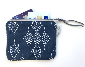 coin purse small zipper pouch coin pouch small wallet vegan boho zipper purse tiny wallet travel pouch retro purse minimalist byMlous