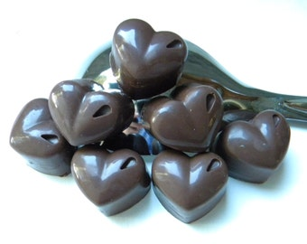Milk Chocolate Toffee Hearts