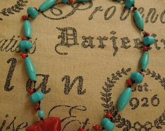 Red Coral and Magnesite