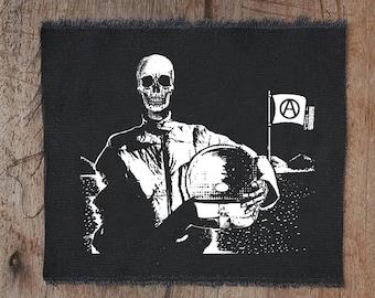 Astronaut Patch • back patch • anarchy • punk patch • patches • death patch • anarchy patches • custom patches • black patches • patch