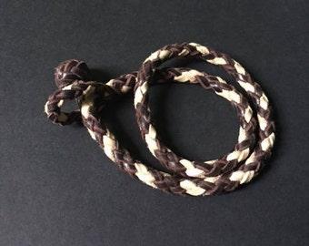 Double wrap eight strand