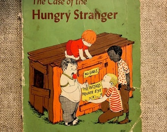 Book The Case of the Hungry Stranger 1st printing 1963 Crosby Bonsall