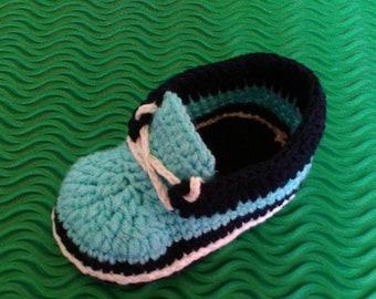 Crochet baby booties baby sneakers baby booties