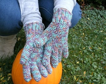 Ladies Seamless Gloves crochet pattern