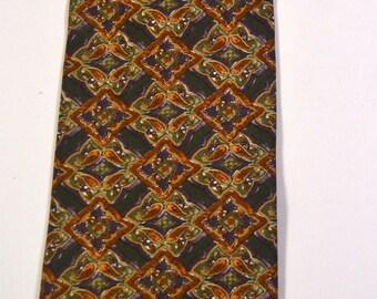 Vintage Men's Christian Dior  Necktie 100% Silk