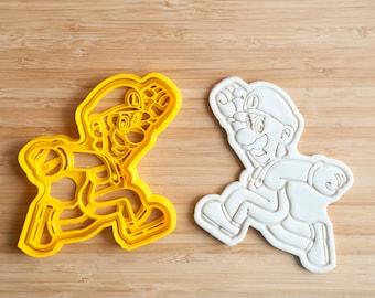 Super Luigi Cookie Cutters. Super Mario Brothers