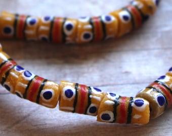 African Sandcast Beads from Ghana - ASC-T-027