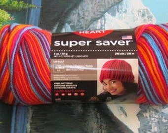 3003985 Red Heart Super Saver 5 oz Sunrise