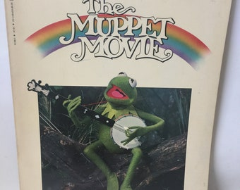 The Muppet Movie Book 1979 Vintage Softcover Childrens Book